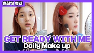 [ENG]•[율희Vlog]🌸GRWM Make up With 찐템 (Feat.토크)🌸