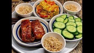 BỮA ĂN EAT CLEAN YÊU THÍCH CỦA CẢ GIA ĐÌNH - MY FAVORITE HEALTHY MEAL