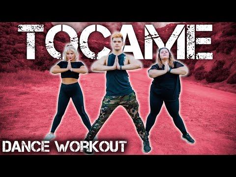 Anitta, De La Ghetto, Arcangel - Tócame | Caleb Marshall | Dance Workout