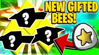 What 3 GIFTED Bees Did I Get In Roblox Bee Swarm Simulator