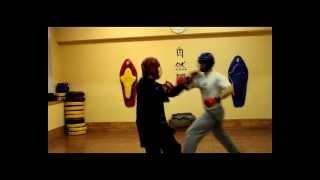 Обучение Ушу. Wushu 武術 Москва. Учебный спарринг.