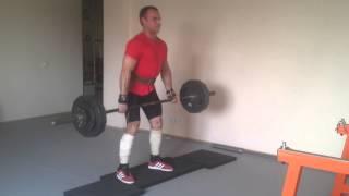 Станова тяга 150 кг - 4 на 3 / 81% від ПМ (СпортБаза)