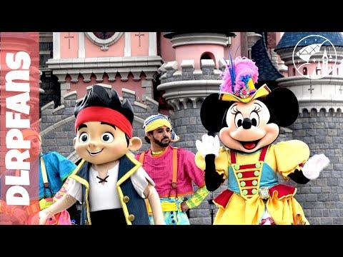 Pirates Team Pirates and Princesses Festival in 4K at Disneyland Paris
