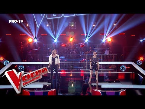Oana vs Antinia - In the name of love   Battle4   The Voice of Romania 2018