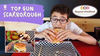 Mouth watering Burger and Steak at Top Gun Scarborough