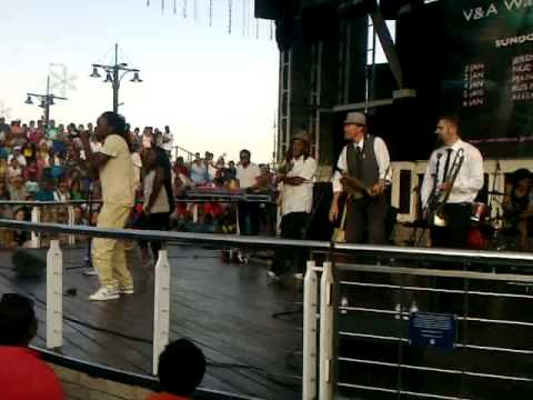 king labash,tibhoz,whoosan and the rudimentalswaterfront capetown