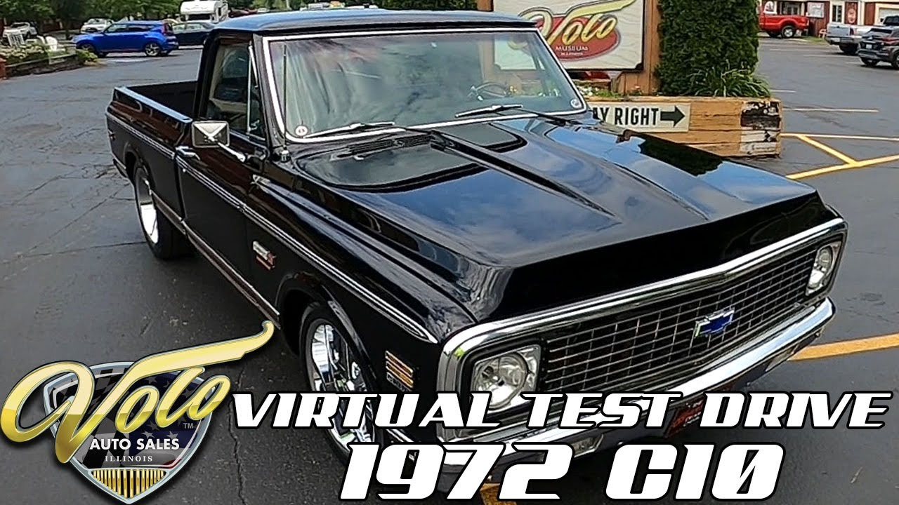 1972 Chevrolet C10 Cheyenne Virtual Test Drive at Volo Auto Museum (V19052)