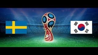 SWEDEN vs KOREA REPUBLIC on Live World Cup 2018 Match 13