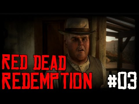 "RED DEAD REDEMPTION Ep 03 - ""Dang Cattle Rustlers!!!"" (Gameplay Walkthrough)"