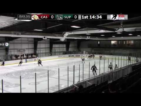 Superior Roughriders vs Casper Coyotes 01/29/17 WSHL