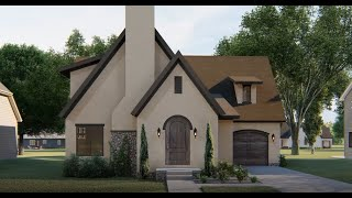 COTTAGE HOUSE PLAN 963-00397