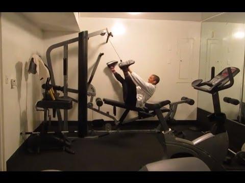 President Obama Workout Video Poland