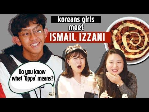 Ismail Izzani Tastes Korean Spicy Rice Cake With Blimey| Blimey X Ismail Izzani