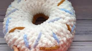 С Новым годом Обзор подушки пончика с Alize Puffy