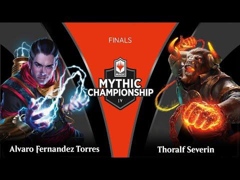 Finals: Alvaro Fernandez Torres Vs. Thoralf Severin - 2019 Mythic Championship IV