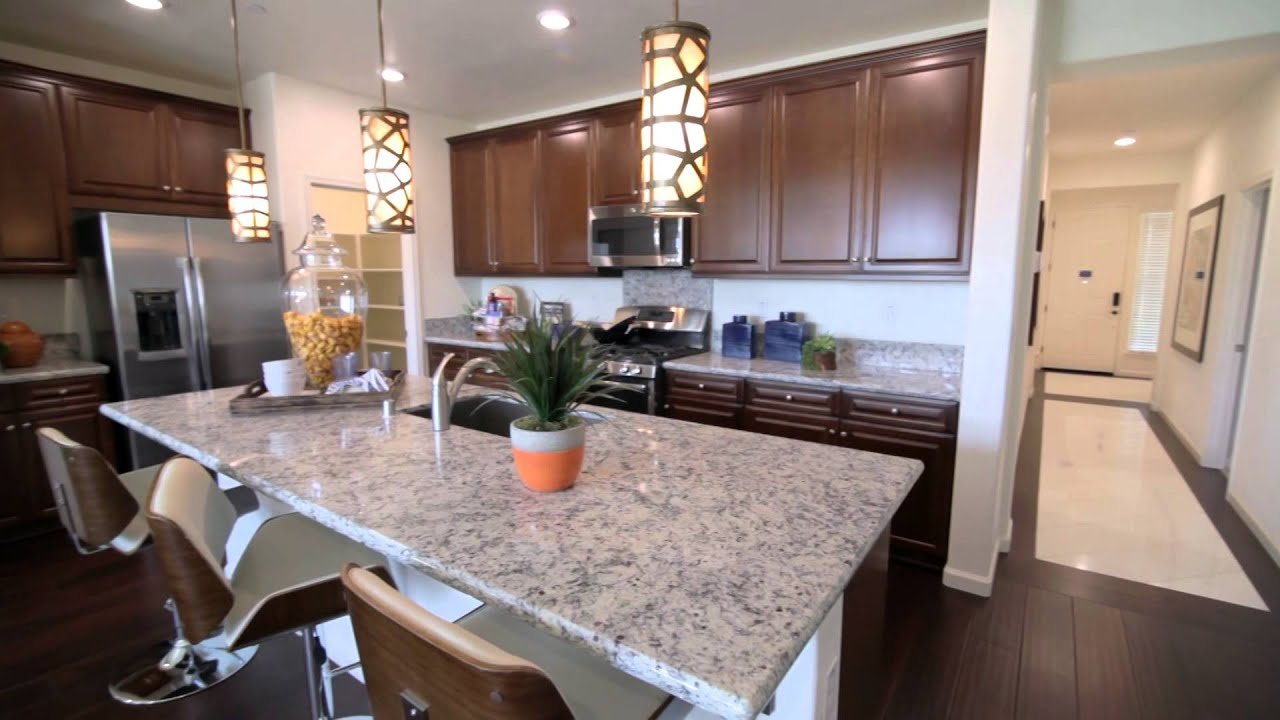 The pepperwood model home at parkside new solar homes by lennar youtube for Interior design model homes pictures