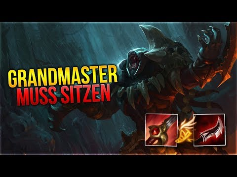 GRANDMASTER MUSS SITZEN! Rengar Jungle [League of Legends] [Deutsch / German] thumbnail