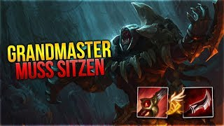 GRANDMASTER MUSS SITZEN! Rengar Jungle [League of Legends] [Deutsch / German]