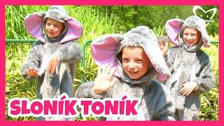 Sloník Toník - Cvičíme s Míšou 4 (pišničky pro děti)