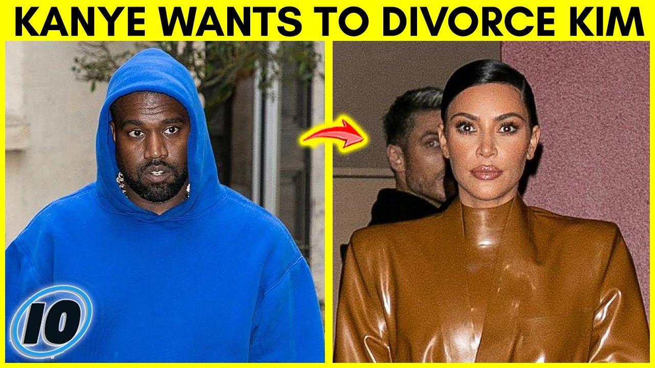 Kanye West Wants To Divorce Kim Kardashian