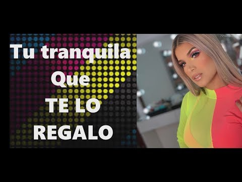 Nanda - Te lo Regalo (Video Lyrics)