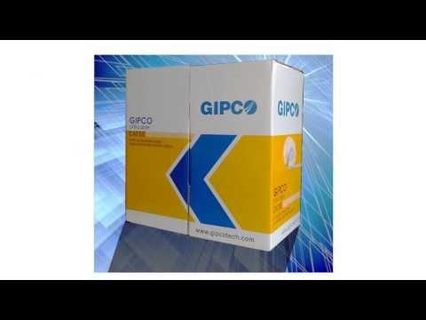 CÁP MẠNG GIPCO CABLE NETWORK SOHO UTP CAT5E 24AWG