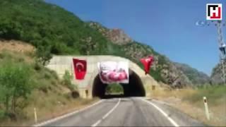Çılgın Karadenizli Tırcının PKK'lı itleri Dize getirdiği anlar!!