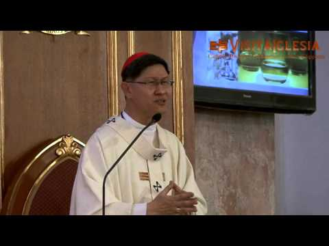 Cardinal Tagle's Chrism Mass Homily
