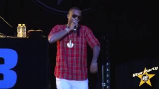 B.o.B Performs