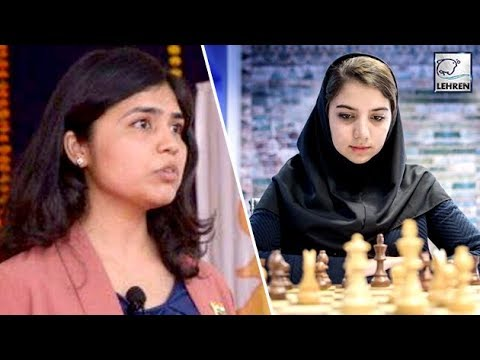 Indian Chess Star Soumya Swaminathan REFUSES To Wear Headscarf For Iran Event