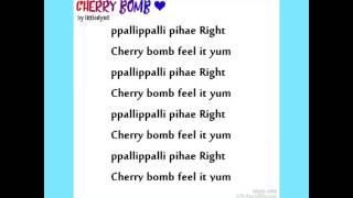 Video NCT 127 Cherry Bomb (EASY LYRICS) download MP3, 3GP, MP4, WEBM, AVI, FLV Maret 2018