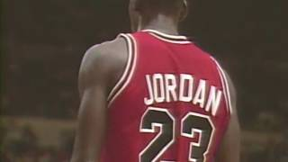 Michael Jordan - 50pts, Opening Night vs. Knicks (1986) RARE