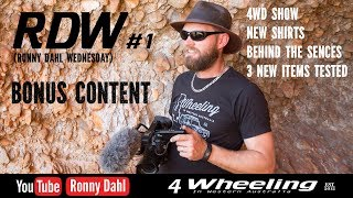 RDW.1 Ronny Dahl Wednesday, Behind the Scenes