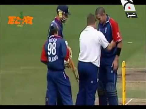 Funny tezabi totay in cricket ball hit the batsman thumbnail