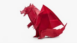 Origami Devil Dragon (Jo Nakashima) - Dragon #8