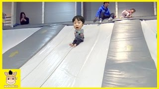 Indoor Playground Learn Colors Color Ball Slide Family Kids Rainbow Fun for Play | MariAndKids Toys