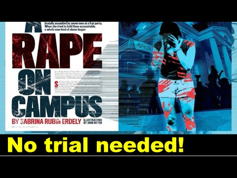 RAPE ON CAMPUS -Rolling Stone