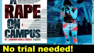 RAPE ON CAMPUS -Rolling Stone