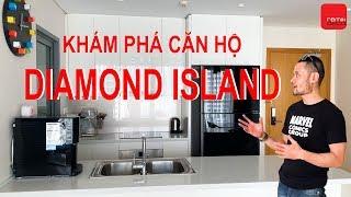 Khám phá căn hộ Diamond Island 7 tỉ với nội thất hiện đại | Remix Deco