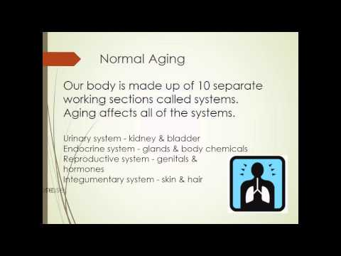 The Normal Aging  Process - Part 1 of 3