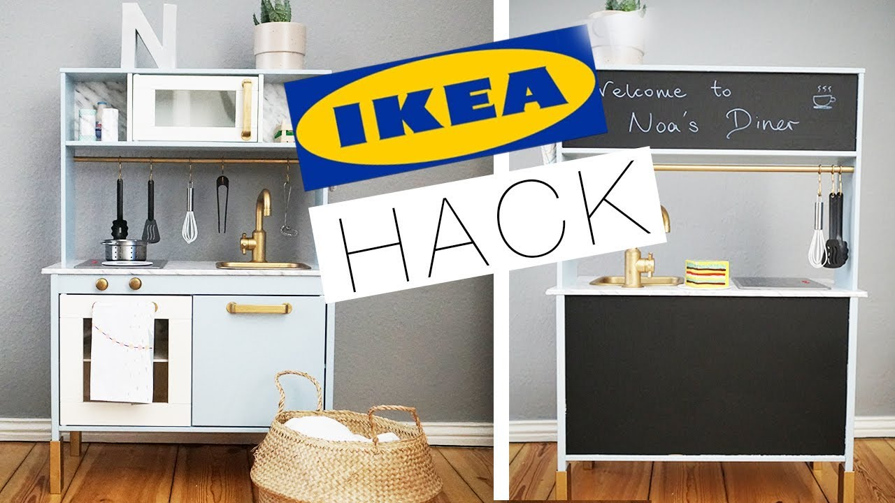 ikea duktig pimpen 2 in 1 hack eileena ley youtube. Black Bedroom Furniture Sets. Home Design Ideas