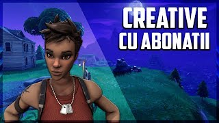 WE'RE PLAYING WITH THE SUBSCRIBERS! THE SECRET SKIN APPEARS SOON! * Code g8ox1g3n *-FORTNITE ROMANIA