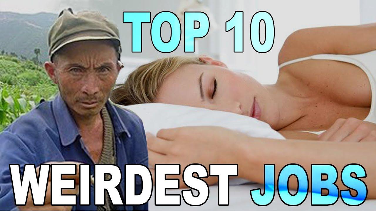 top weirdest jobs