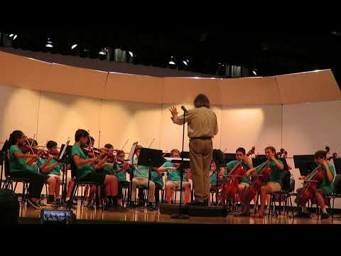 Old Donation School Summer Orchestra Performs Legends of Valor