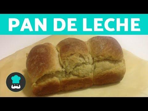 PAN de LECHE casero MUY FÁCIL | Recetas de pan de leche ESPONJOSO