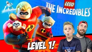 LEGO The Incredibles Gameplay for Nintendo Switch Part 1!