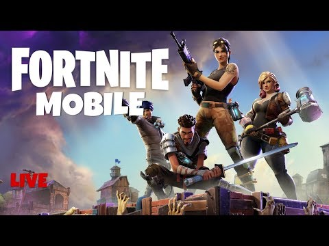 Fortnite Mobile cause why not (2 invite codes give-away!)