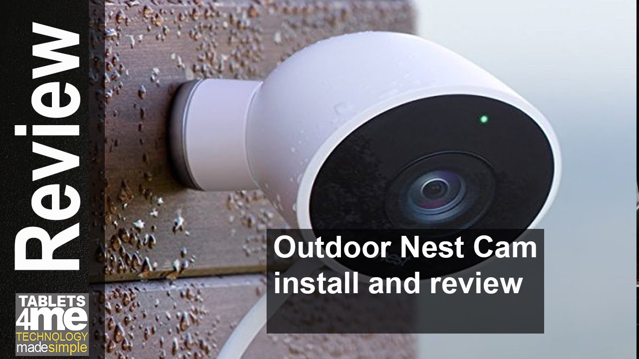 new 2016 outdoor nest cam install and setup youtube. Black Bedroom Furniture Sets. Home Design Ideas