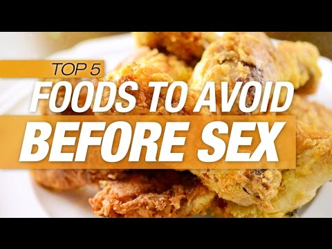 Food to eat before sex