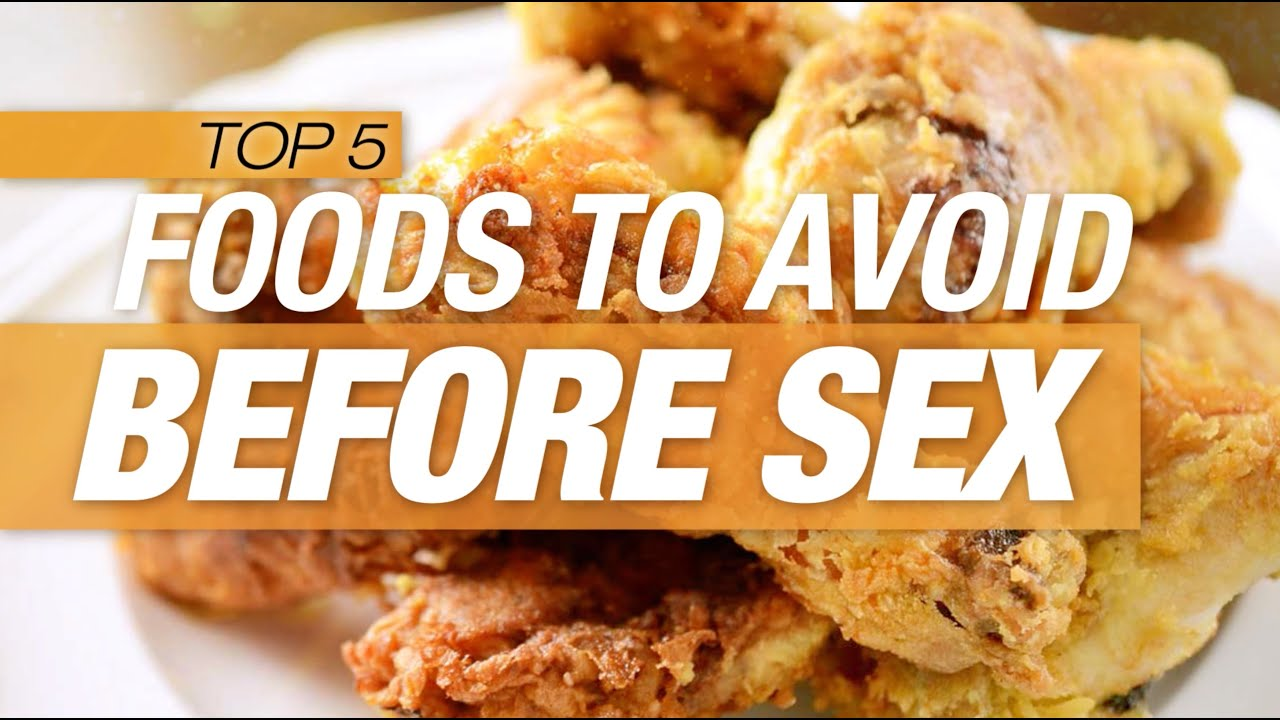 Good food to eat before sex